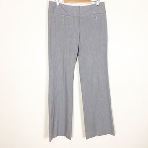 Express Grey Editor Trouser Dress Pants